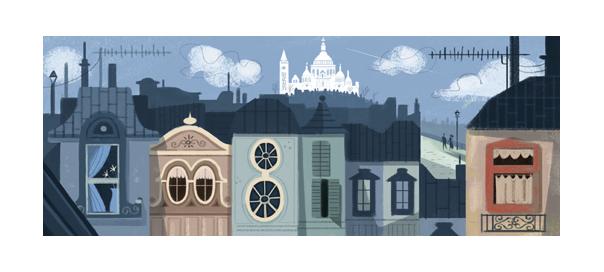 Google : Doodle pour l'architecte Paul Abadie