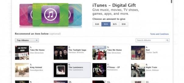 Facebook : Offrez des crédits iTunes comme cadeau
