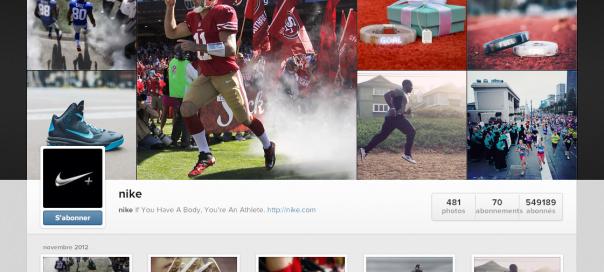 Instagram : Profils utilisateurs sur le site internet