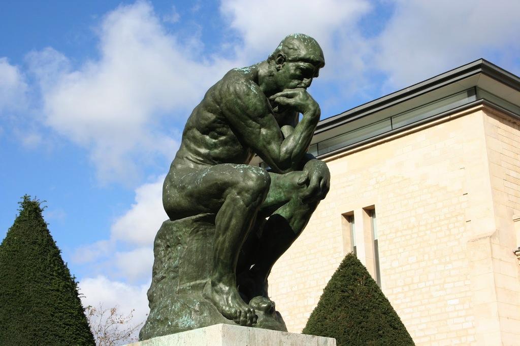 Extrêmement Google : Auguste Rodin, Le Penseur du sculpteur en doodle - WebLife FE35