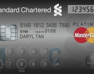 MasterCard : Ecran et clavier tactile sur sa CB