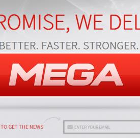 Mega : 1 million d'utilisateurs en 1 jour