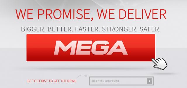 Mega : Le prochain service de Kim Dotcom