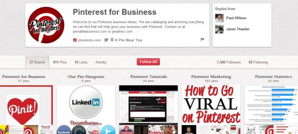 Pinterest : Comptes entreprises disponibles