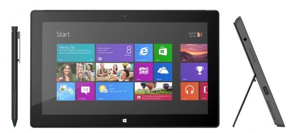 Microsoft Surface Pro : Sortie début 2013 !