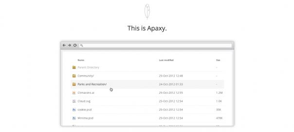 Apaxy : Donner du style à ses index Apache