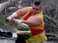 Fruit Ninja IRL