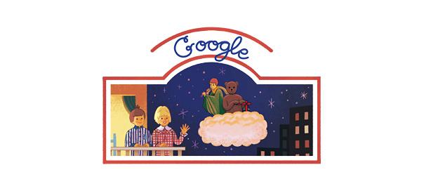 Google : Doodle Bonne nuit les petits