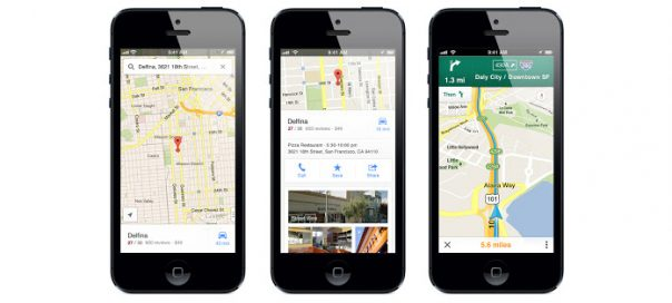 Google Maps pour iPhone : L'application est disponible