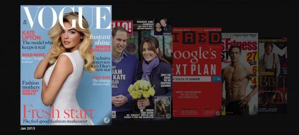 Google Play : Magazines électroniques au Royaume-Uni