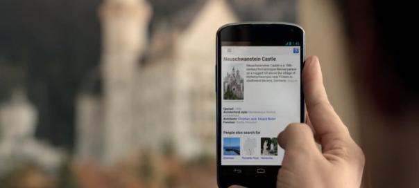 Google : Publicités pour l'application mobile