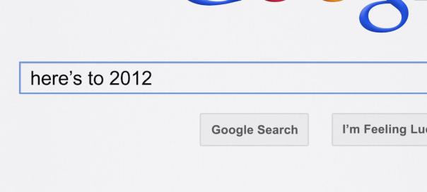 Google Zeitgeist 2012 : Recherches populaires sur internet