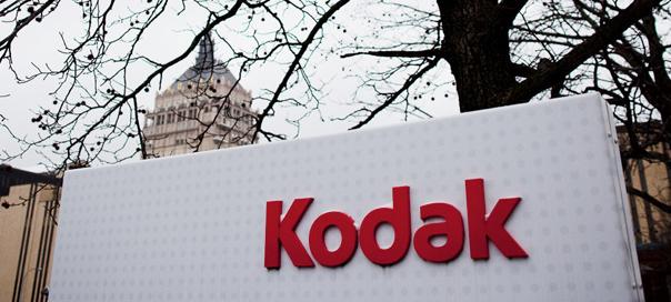 Kodak : En faillite, le plan de restructuration peut être lancé