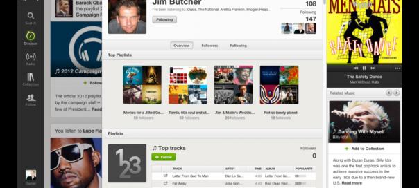 Spotify Discovery : Recommandation sociale de musiques