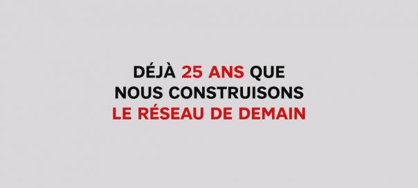 SFR : 25 ans d'histoire en vidéo pour l'opérateur