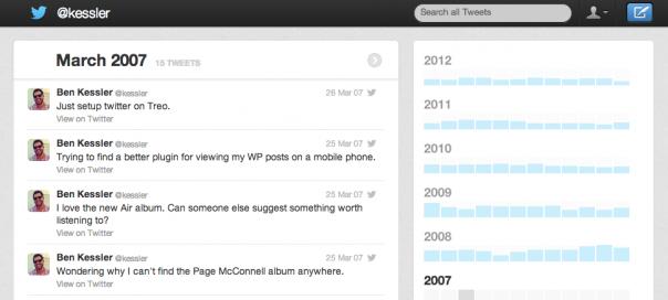 Twitter : Archive des anciens tweets à télécharger