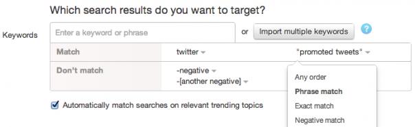 Twitter : Ciblage publicitaire des promoted tweets