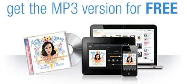 Amazon AutoRip : Version MP3 offerte du CD que vous achetez