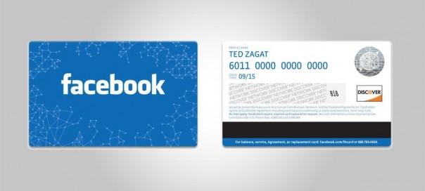 Facebook Card : La carte cadeau rechargeable du réseau social