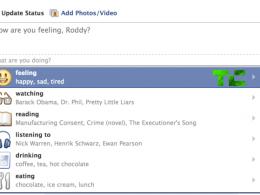 Facebook : Statut Emoticones