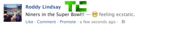 Facebook : Statut emotion