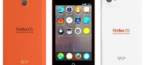 Firefox OS : Un premier téléphone pour développeurs