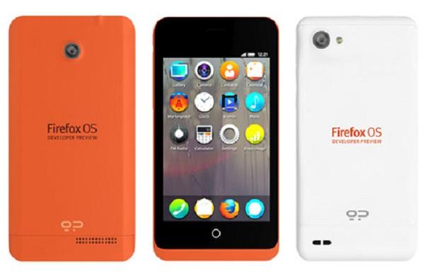 Téléphones Firefox OS