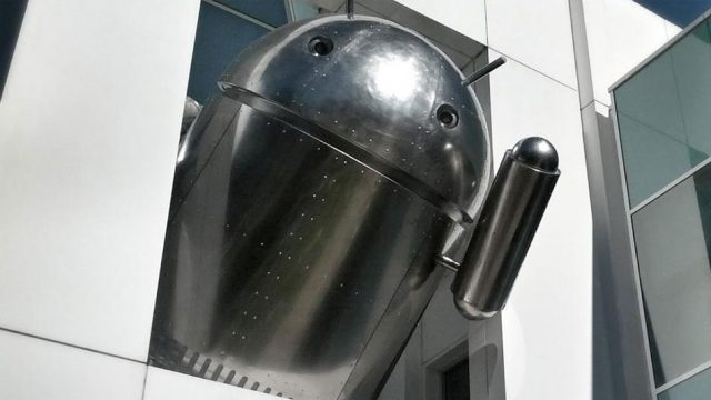 Google Droid : Chrome
