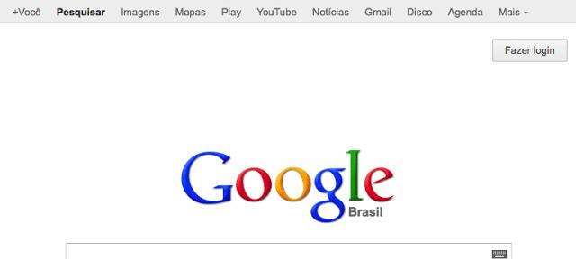 Google : Barre de navigation grise