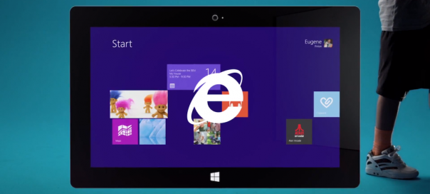 Internet Explorer : Publicité à destination de la génération Y