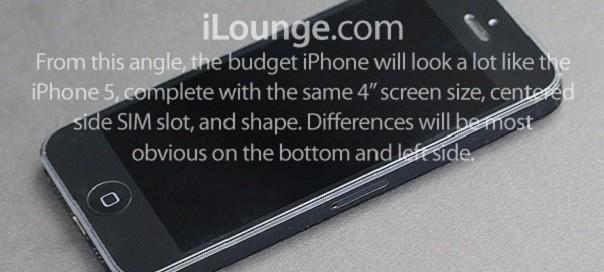 iPhone en plastique : Les premières photos