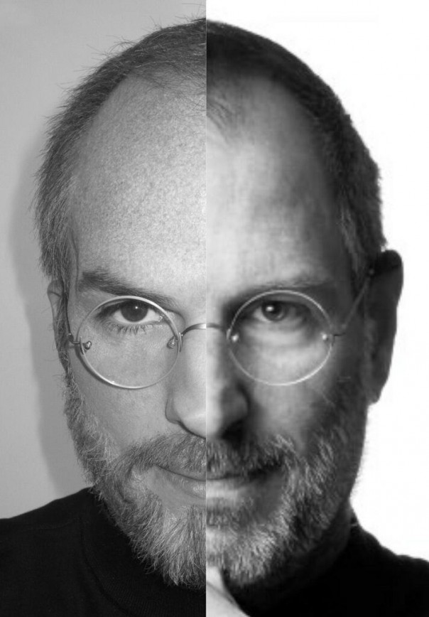 Steve Jobs & Ashton Kutcher