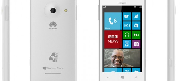 Huawei 4Afrika : Le Windows Phone dédié aux états africains