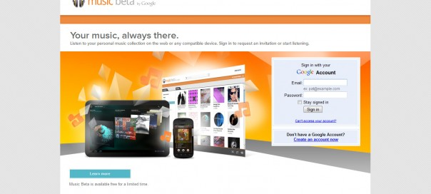 Google Music : Offre payante de streaming musical en vue ?
