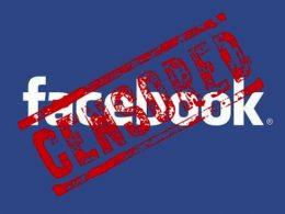 Facebook : Censuré