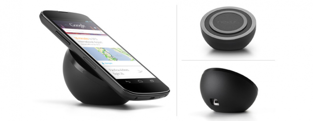 Google Nexus 4 : Chargeur Qi à induction (sans fil)