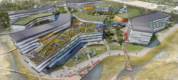 Google : Un nouveau campus pour former les élites