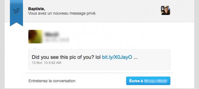 Twitter : Phishing