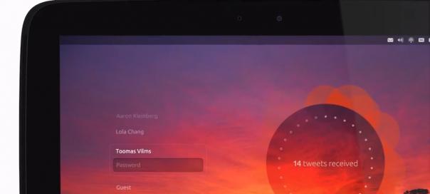 Ubuntu : Déclinaison pour tablettes présentée en vidéo
