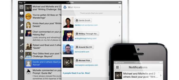 WordPress : Notifications