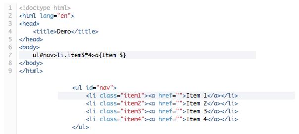 Emmet : Zen Coding, en plus puissant !