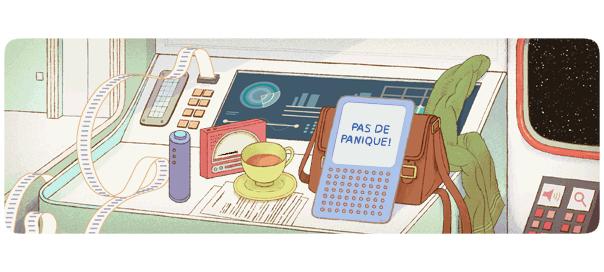 Google : Douglas Adams & Le Guide du voyageur galactique