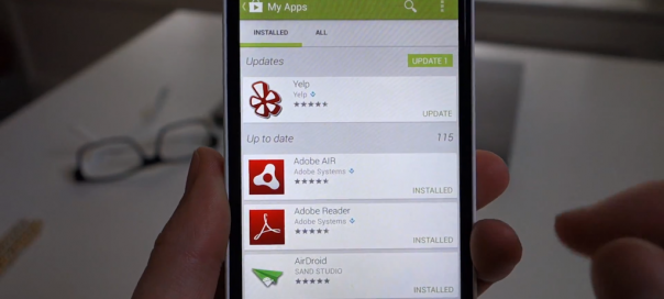 Google Play : Le store passe en version 4 sur mobiles