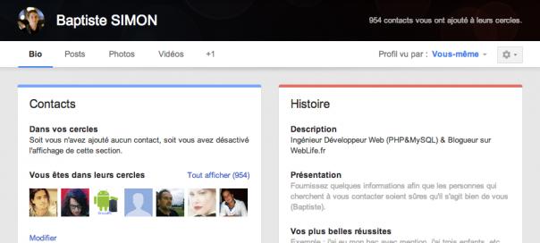 Google+ : Nouvelles interface et fonctionnalités !