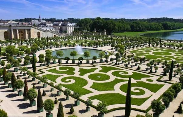 Jardin à la française du château de Versailles