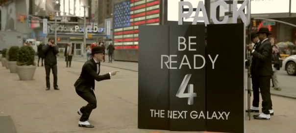 Samsung Galaxy S4 : Flash Mob de promotion à New York