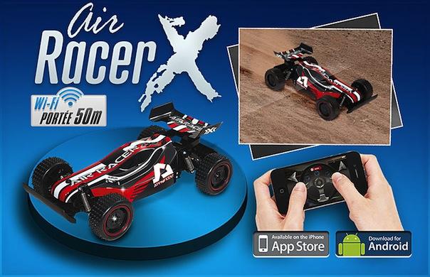 Voiture télécommandée Air Racer X