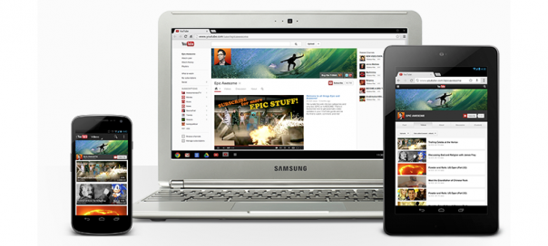 YouTube One Channel : Google lance les chaînes uniques