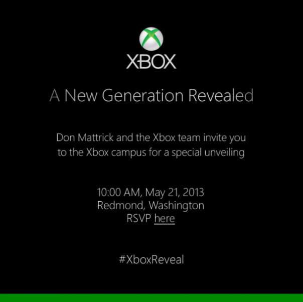 Xbox : Invitation conférence de presse