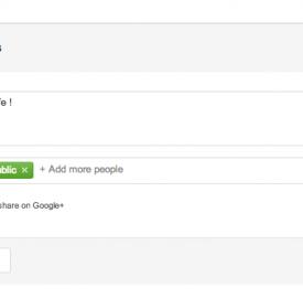 Google+ : Arrivée du système de commentaires sur Blogger